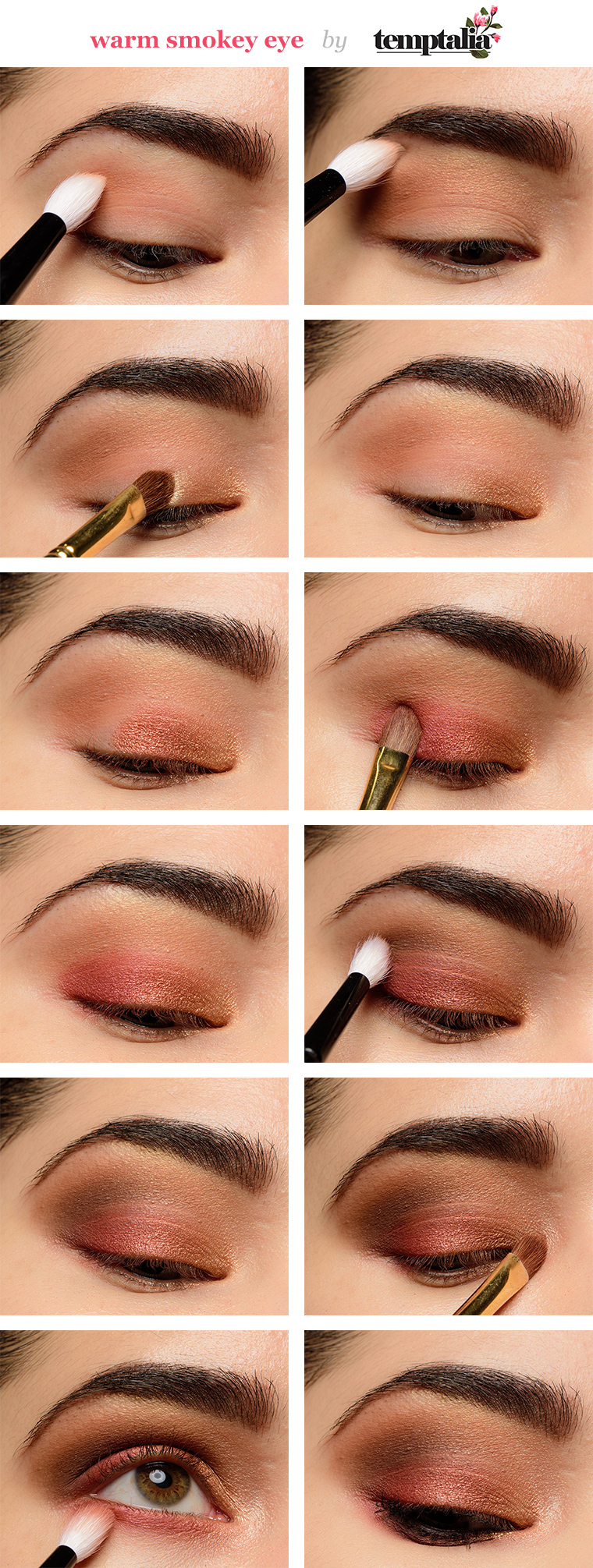 Smokey Eyeshadow Tutorial: How To Apply Eyeshadow: Smokey Eye Makeup Tutorial For