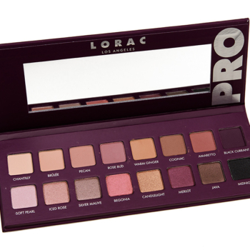 Swatches: LORAC Pro Palette 4 Eyeshadow Palette