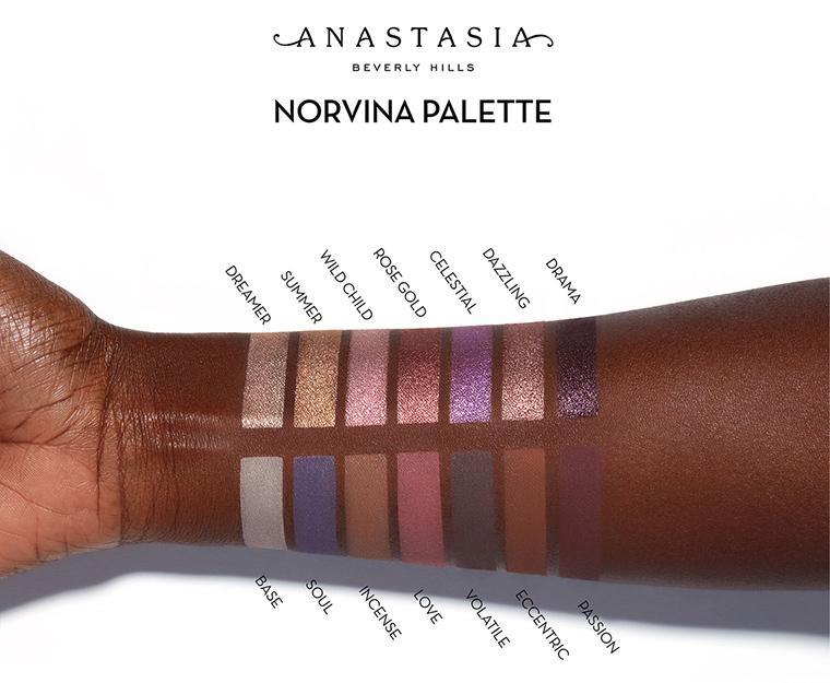 Anastasia x Norvina Eyeshadow Palette