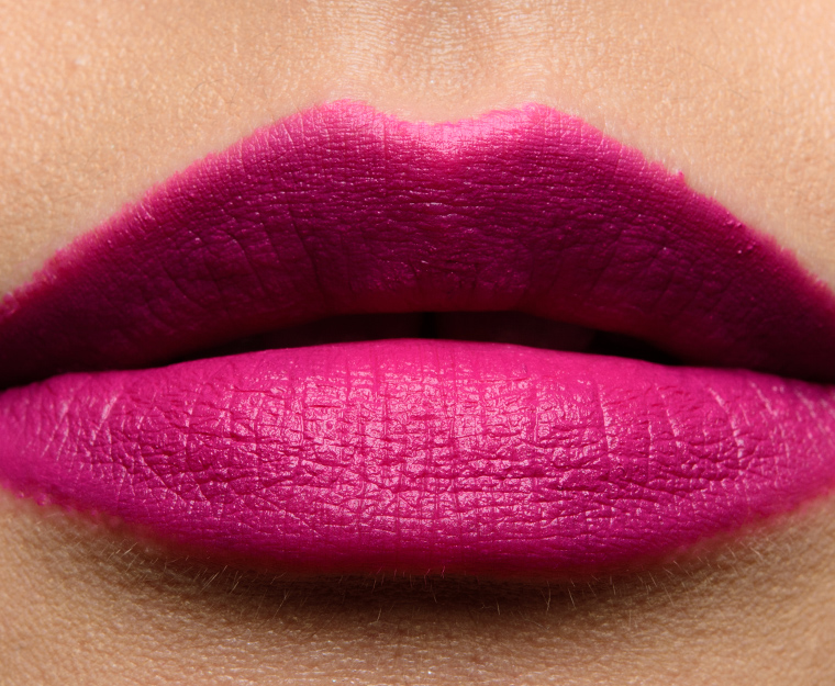 Bobbi Brown Razzberry Vibrant Violet Luxe Matte Lip Colors Reviews