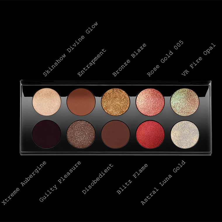 Pat McGrath Bronze Seduction Mothership V Eyeshadow Palette