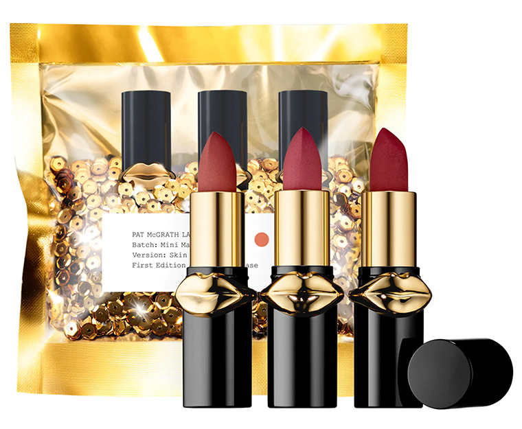 Pat McGrath LUST Mini MatteTrance Lipstick Trio in Skin Show