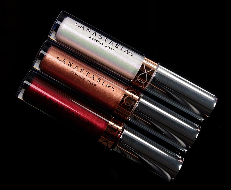 Anastasia Holiday 2018 Mini Metallic Liquid Lipstick 3-Piece Set