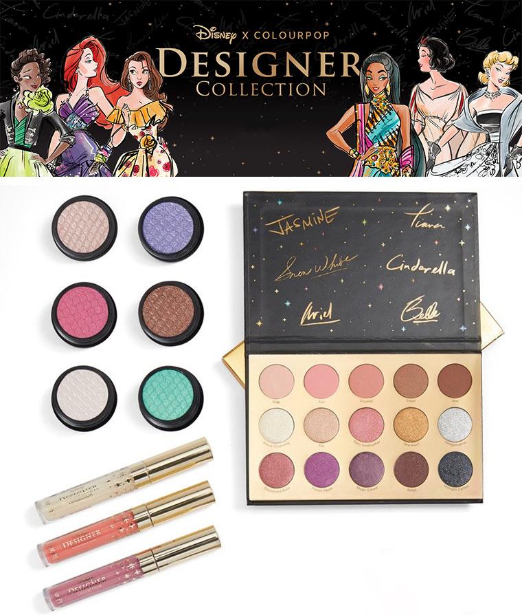 Disney x ColourPop Designer Collection Release Date
