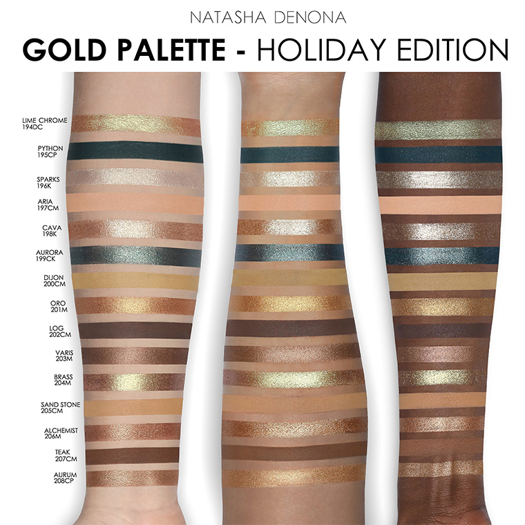 Resultado de imagen de gold palette natasha denona