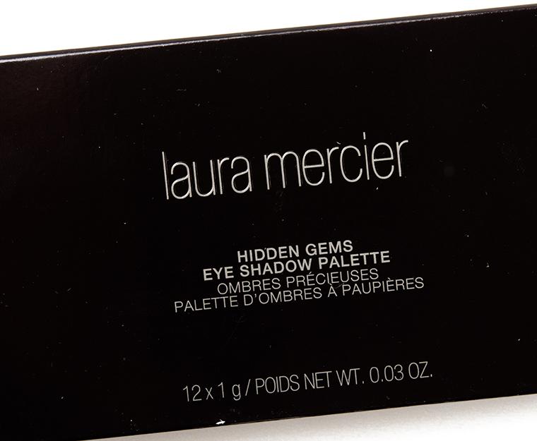 Laura Mercier Hidden Gems Artist Eye Colour Palette