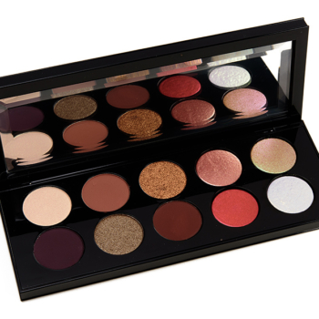 Pat McGrath Bronze Seduction Mothership Eyeshadow Palette Swatches