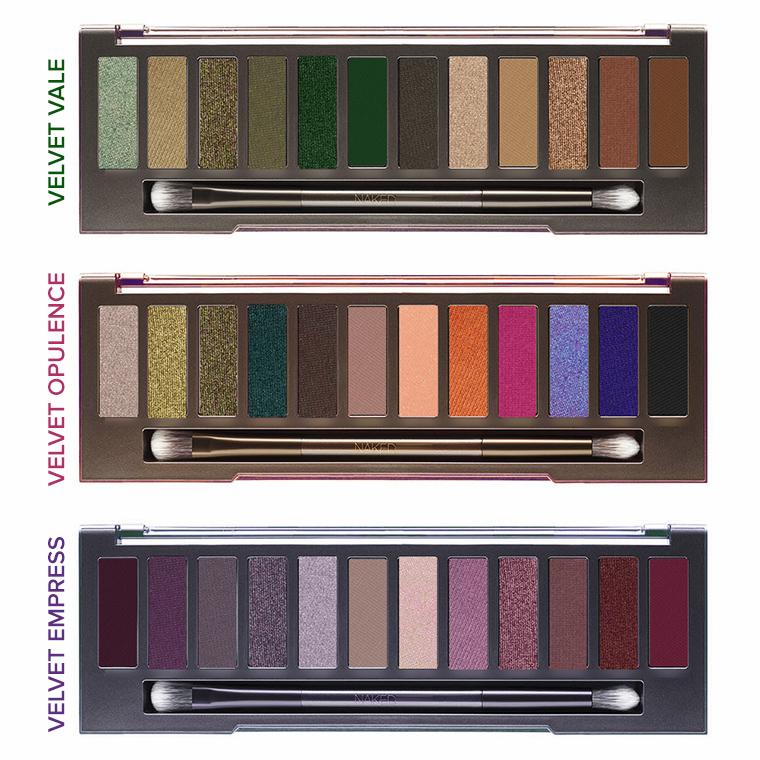 Urban Decay Eyeshadow Palettes