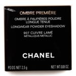 Chanel Cuivre Lamé (907) Ombre Premiere Longwear Powder Eyeshadow