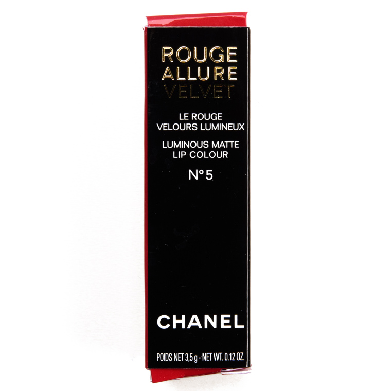 Chanel No 5 Rouge Allure Velvet Review Swatches