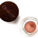 ColourPop Nut Crème Gel Colour