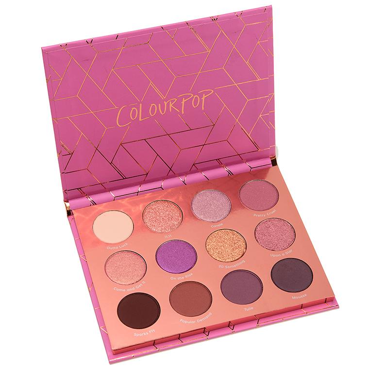 ColourPop Sweet Nothings 12-Pan Pressed Powder Shadow Palette