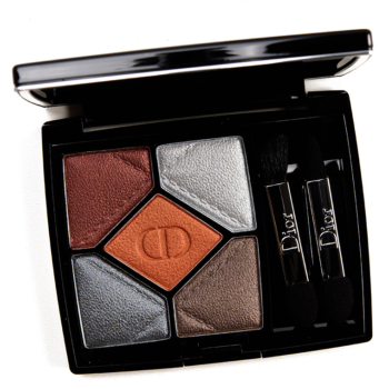 dior volcanic 001 palette 350x350 - Dior Volcanic High Fidelity Eyeshadow Palette Review & Swatches