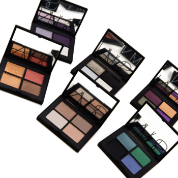 NARS Eyeshadow Quad Swatches