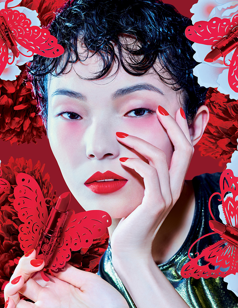Mac lucky red collection for lunar new year 2019 release - Lucky color for new year 2019 ...
