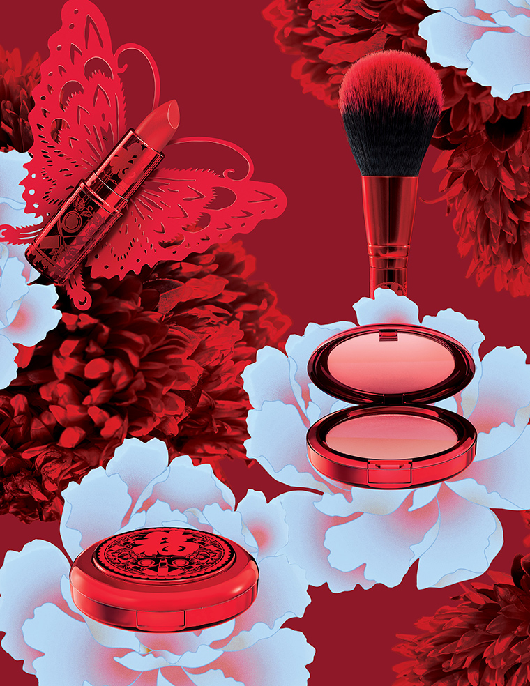 Mac lucky red collection for lunar new year 2019 release - What is the lucky color of the year 2019 ...
