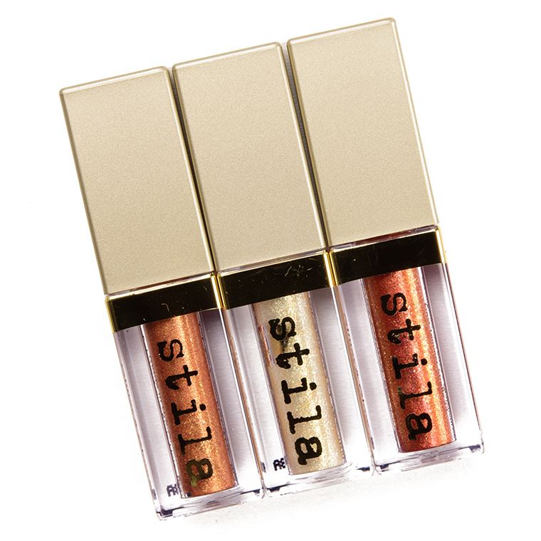 Stila All Fired Up Magnificent Metals Glitter & Glow Liquid Eye Shadow Trio
