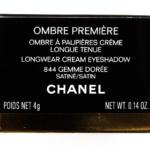 Chanel Gemme Doree (844) Ombre Premiere Longwear Cream Eyeshadow