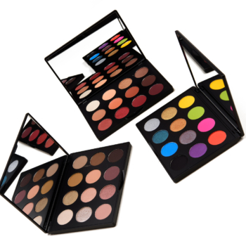 MAC Art Library Eyeshadow Palette Swatches