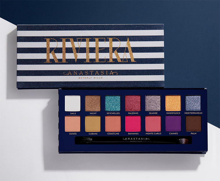 Anastasia Riviera Eyeshadow Palette Launches March 4th