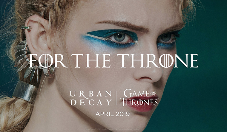 Urban Decay x Game of Thrones For the Throne Collection Coming April 2019