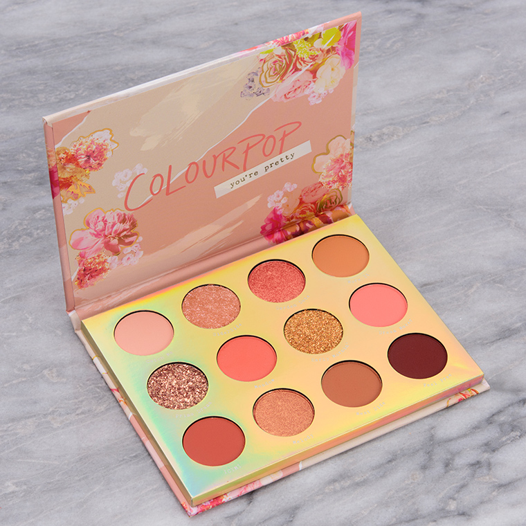 Colour Pop Sweet Talk 12-Pan Makeup Palette