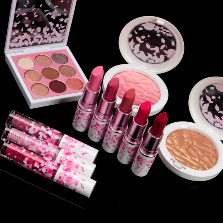 MAC Boom, Boom, Bloom Collection Swatches
