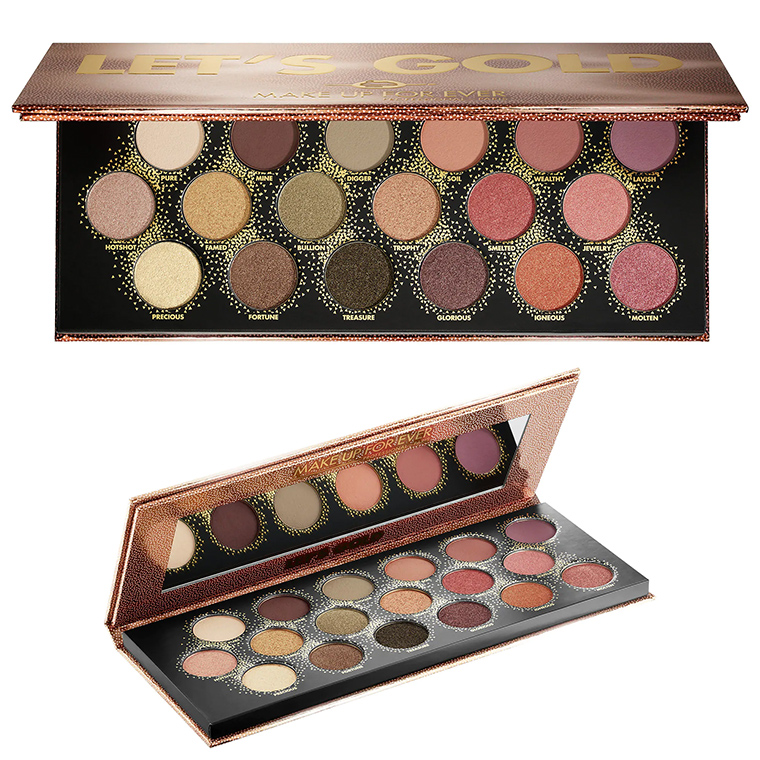Make Up For Ever Let's Gold Eye Palette Now Available