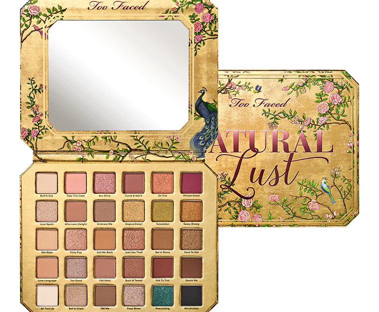 Too Faced Natural Lust Collection for Spring 2019