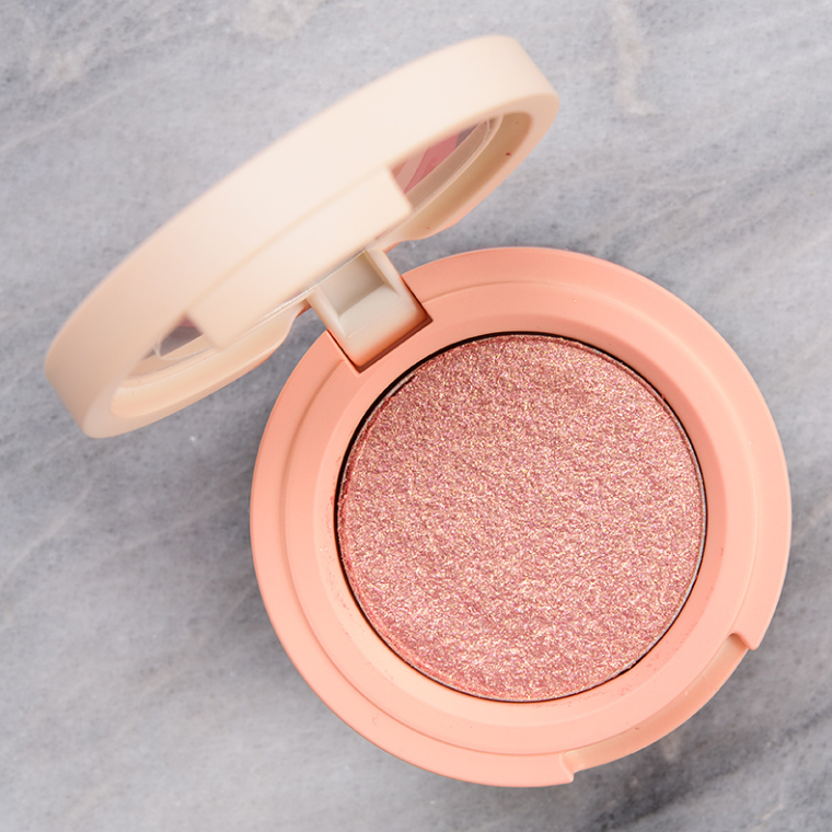 Kaja Sandy Peach Bouncy Shimmer Eyeshadow