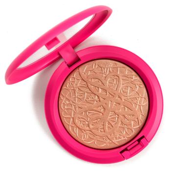 Makeup Revolution Liquid Bronze Gold Vs Mac Dima S Glow Dupe Comparison