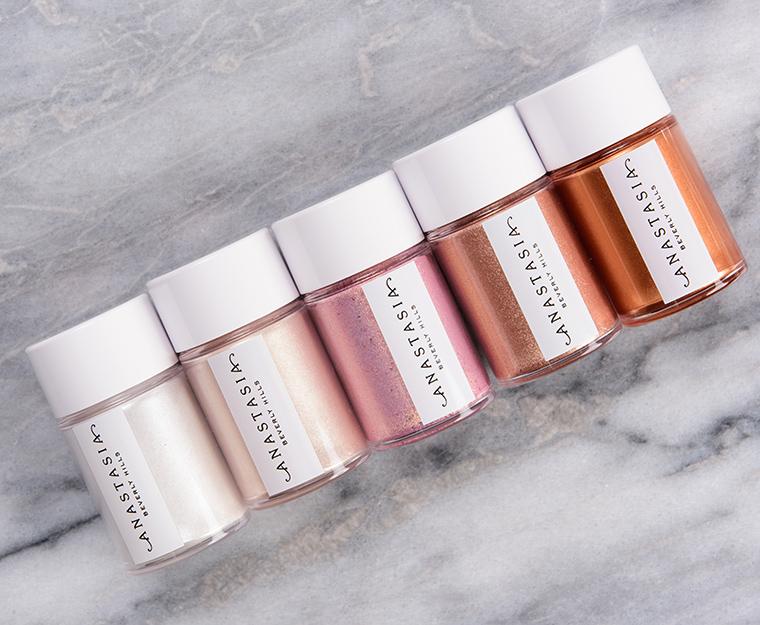Anastasia Loose Pigment Swatches