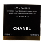 Chanel Blurry Blue (324) Les 4 Ombres Multi-Effect Quadra Eyeshadow