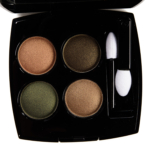 Chanel Blurry Green (318) Les 4 Ombres Multi-Effect Quadra Eyeshadow