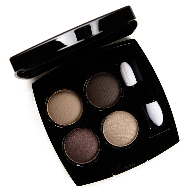 Chanel Blurry Grey (322) Eyeshadow Quad Review & Swatches