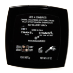 Chanel Blurry Grey (322) Les 4 Ombres Multi-Effect Quadra Eyeshadow