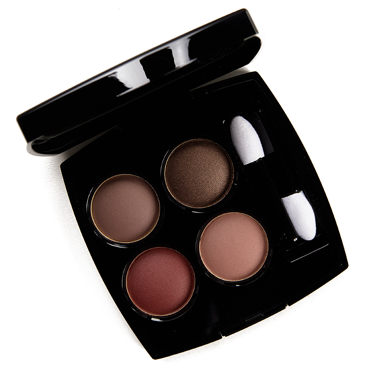 Chanel Blurry Mauve (328) Eyeshadow Quad Review & Swatches