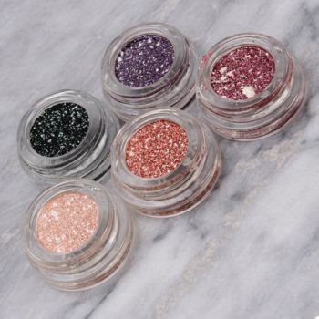 Ciate Marbled Metals Metallic Glitter Eyeshadow Swatches