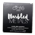 Ciate Twisted Marbled Metals Metallic Glitter Eyeshadow