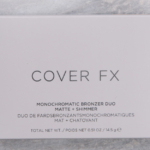 Cover FX Sunkissed Bronze Monochromatic Bronzer Duo