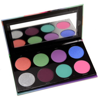 Linda Hallberg Cosmetics Spectral Eyeshadow Palette Swatches