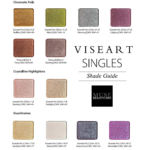 Viseart Eyeshadow Singles Launching May 6th