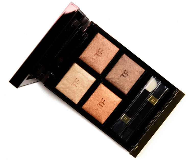 Tom Ford Suspicion Eye Color Quad Review & Swatches