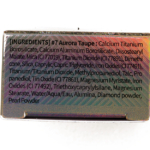 Touch in Sol Aurora Taupe (7) Metallist Sparkling Foiled Eyeshadow