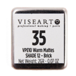 Viseart Brick (Warm Mattes #12) Eyeshadow