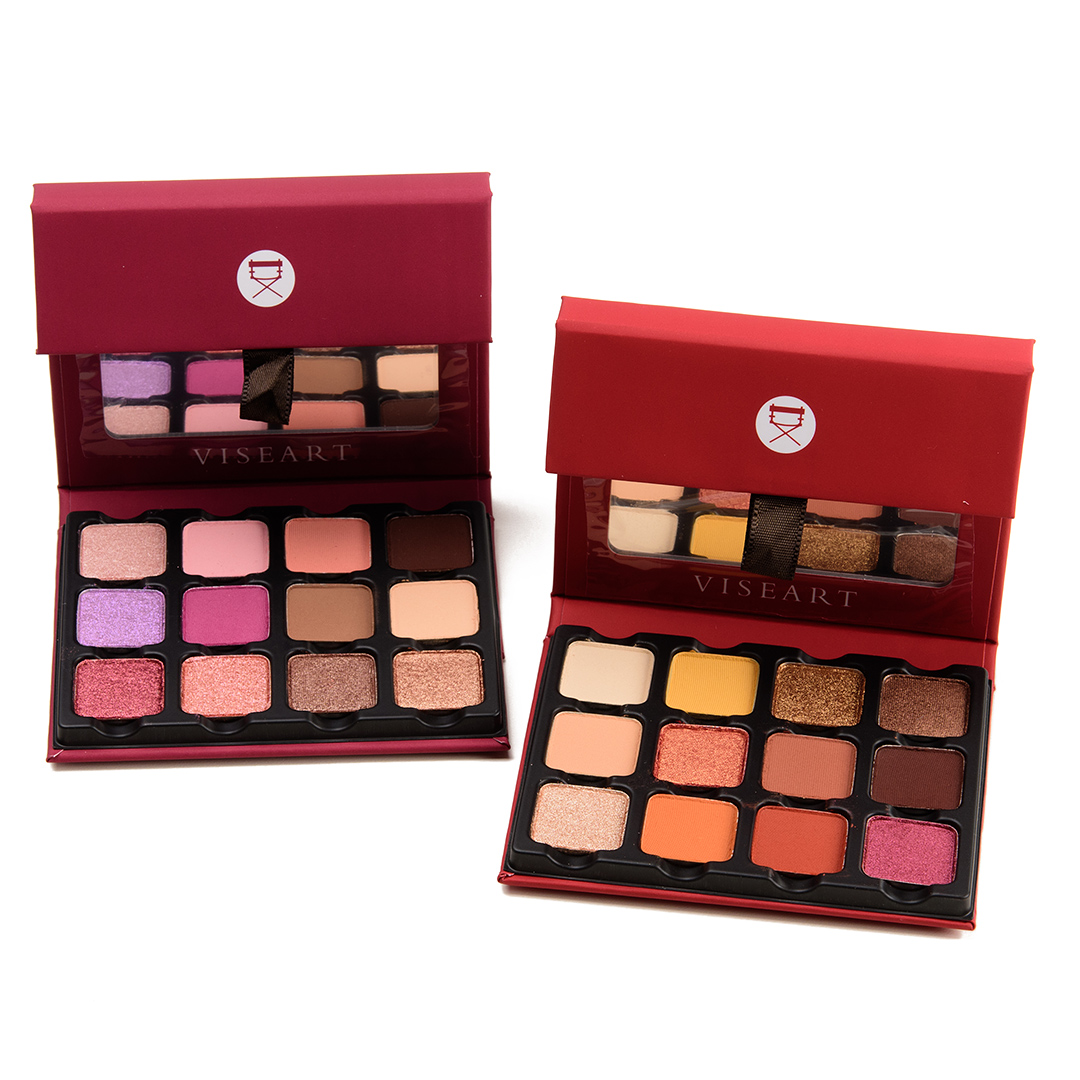 Viseart Rosé Edit & Warm Edit Palettes | Swatches