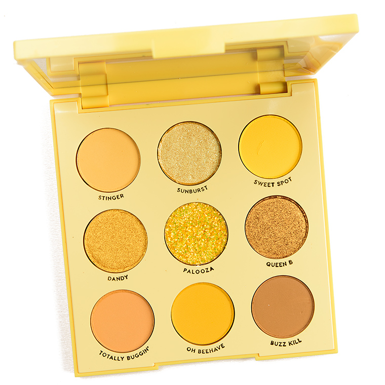 Colourpop Uh Huh Honey Eyeshadow Palette Review Swatches