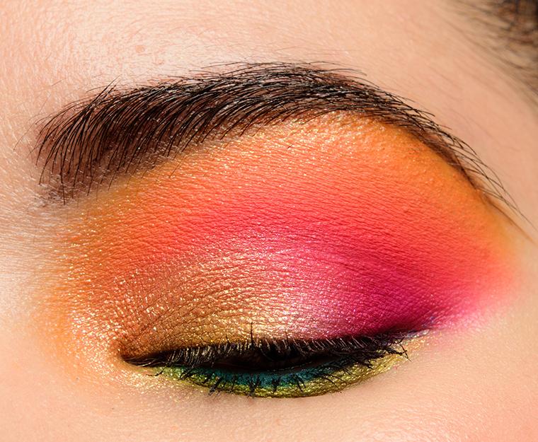 A Bright Neon Sunset Eye Look Featuring Huda Beauty Neon