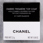 Chanel Carte Blanche (317) Ombre Premiere Top Coat