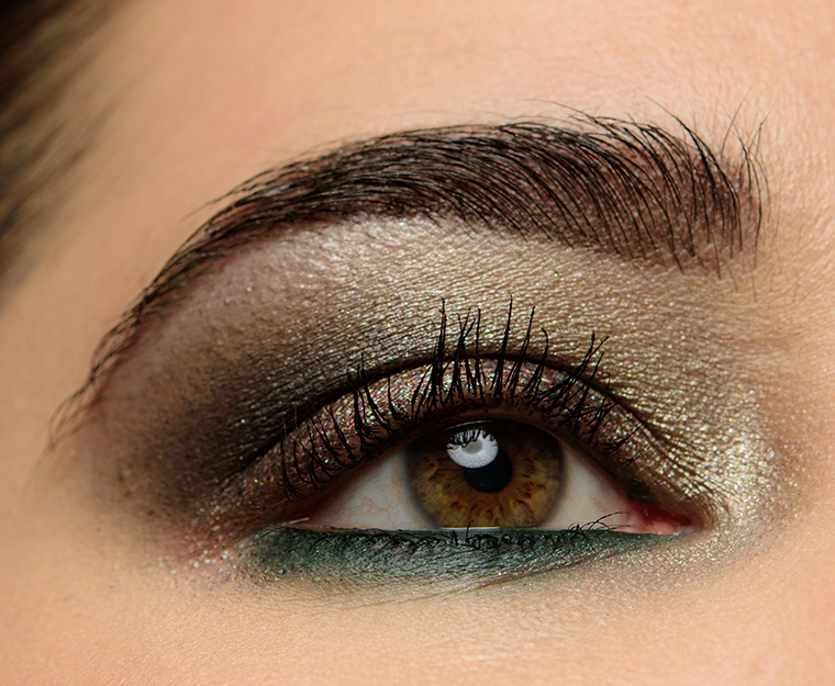 Smoky Plum & Green Eye Look | Look Details
